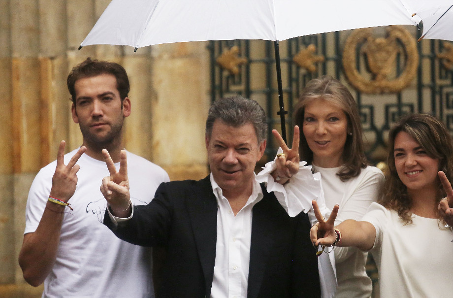 Tổng thống Colombia Juan Manuel Santos (ảnh: Getty Images)