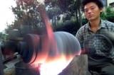Thú vị: 'Súng thần công' làm bắp rang ở Trung Quốc (video)