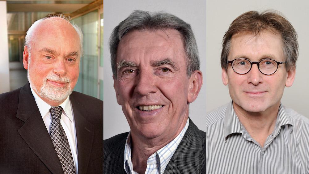 3 nhà khoa học: Stoddart, Sauvage, and Feringa.(UCLA/CNRS/University of Gronigen)