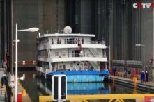 Trung Quốc: Thang máy lớn nhất thế giới… cho tàu thủy (video)