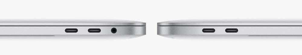4 cổng Thunderbold của Macbook Pro 2016 (ảnh: Apple)