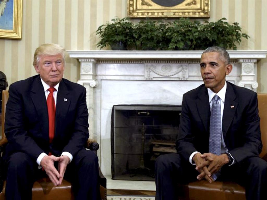Tổng thống Obama gặp người kế nhiệm Donald Trump sau cuộc bầu cử (White House)