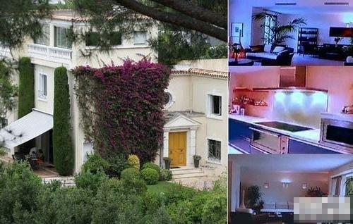 "Dinh thự ""Villa fontaine Saint-Georges"" của Bạc Qua Qua ở Cannes - Pháp năm 2013 (Ảnh: Internet)"