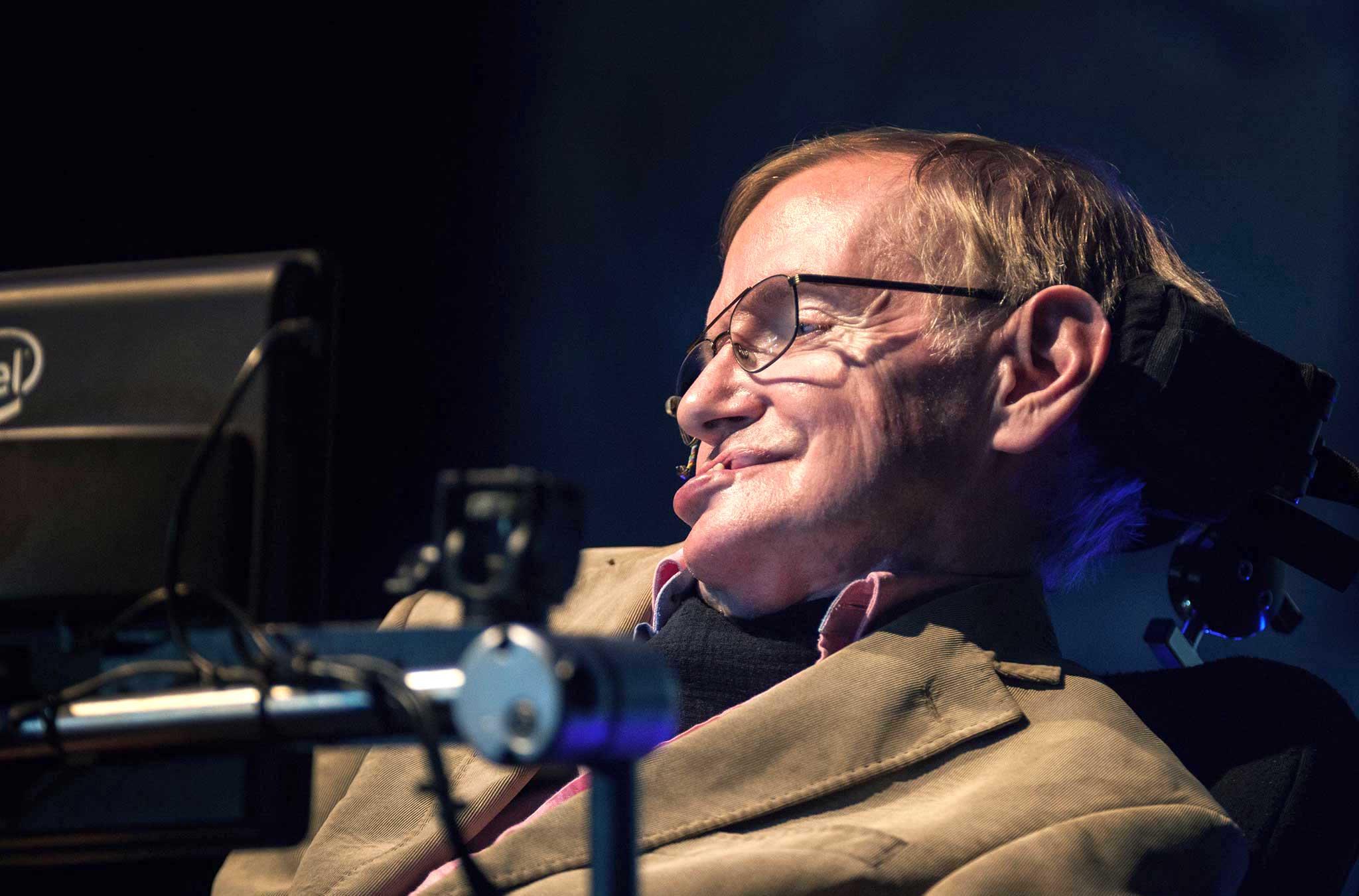 Stephen Hawking. (Ảnh: Getty)