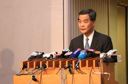 Lương Chấn Anh tuyên bố không tiếp tục tranh cử Trưởng Đặc khu Hồng Kông