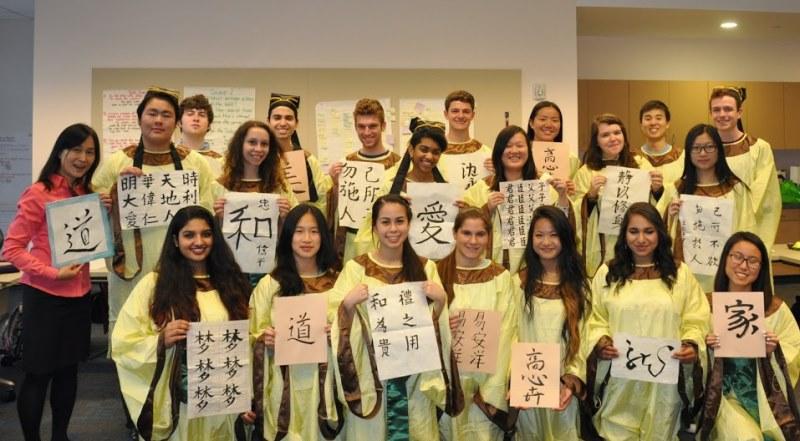 Văn hóa Trung Hoa cổ truyền được sinh viên Mỹ thích thú theo học