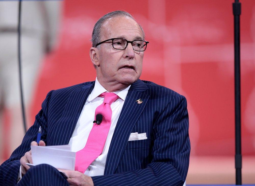 Chuyên gia tài chính kỳ cựu Larry Kudlow (ảnh: Wiki)