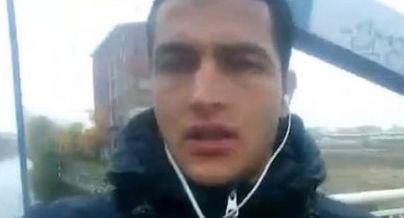 Nghi phạm Anis Amri trong video thề trung thành với IS