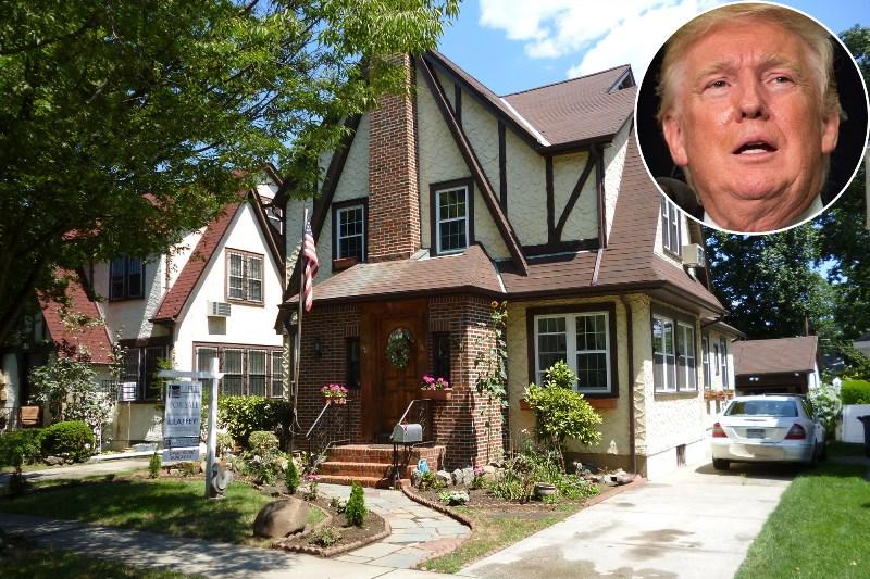 can-nha-thoi-tho-au-cua-ong-trump-house-02 căn nhà thời thơ ấu của ông Trump