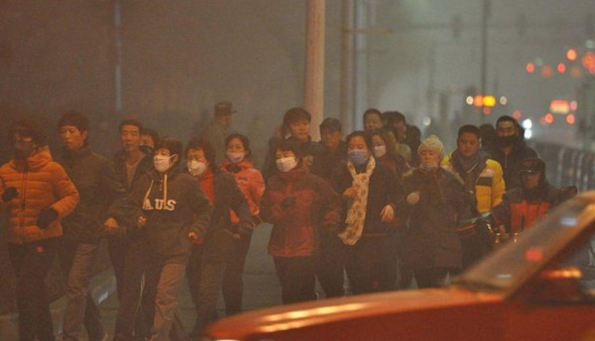 Sương mù ô nhiễm gây tác động tiêu cực nghiêm trọng cho sức khỏe con người.(Ảnh: internet)