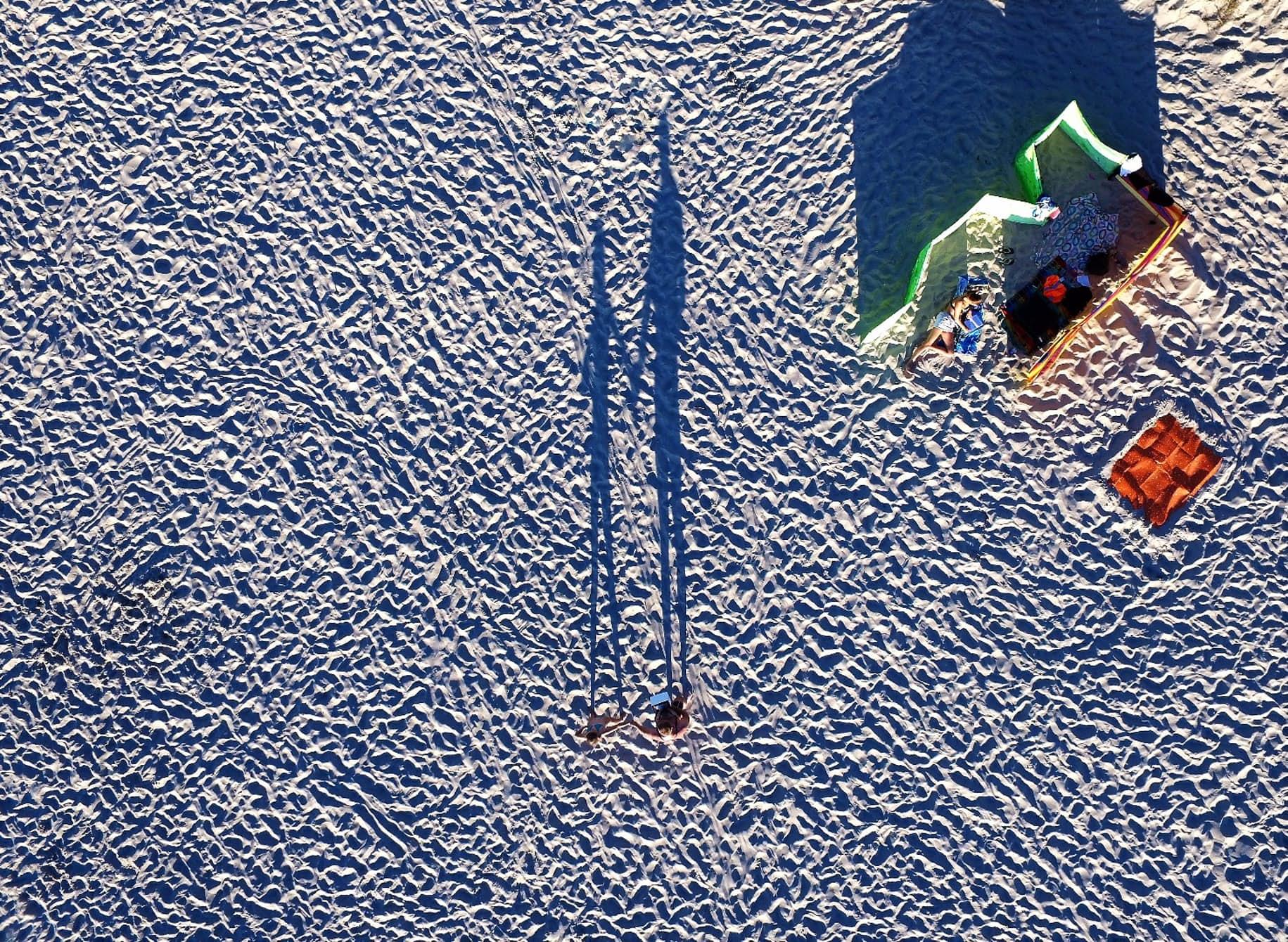 Vùng Miedzyzdroje ở Phần Lan, nhìn từ trên cao (ảnh: Drone Expert)