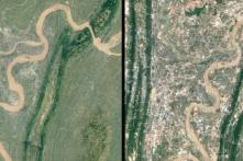 Google Timelapse quay lại quá trình xây dựng và phá hủy trên Trái Đất trong 32 năm