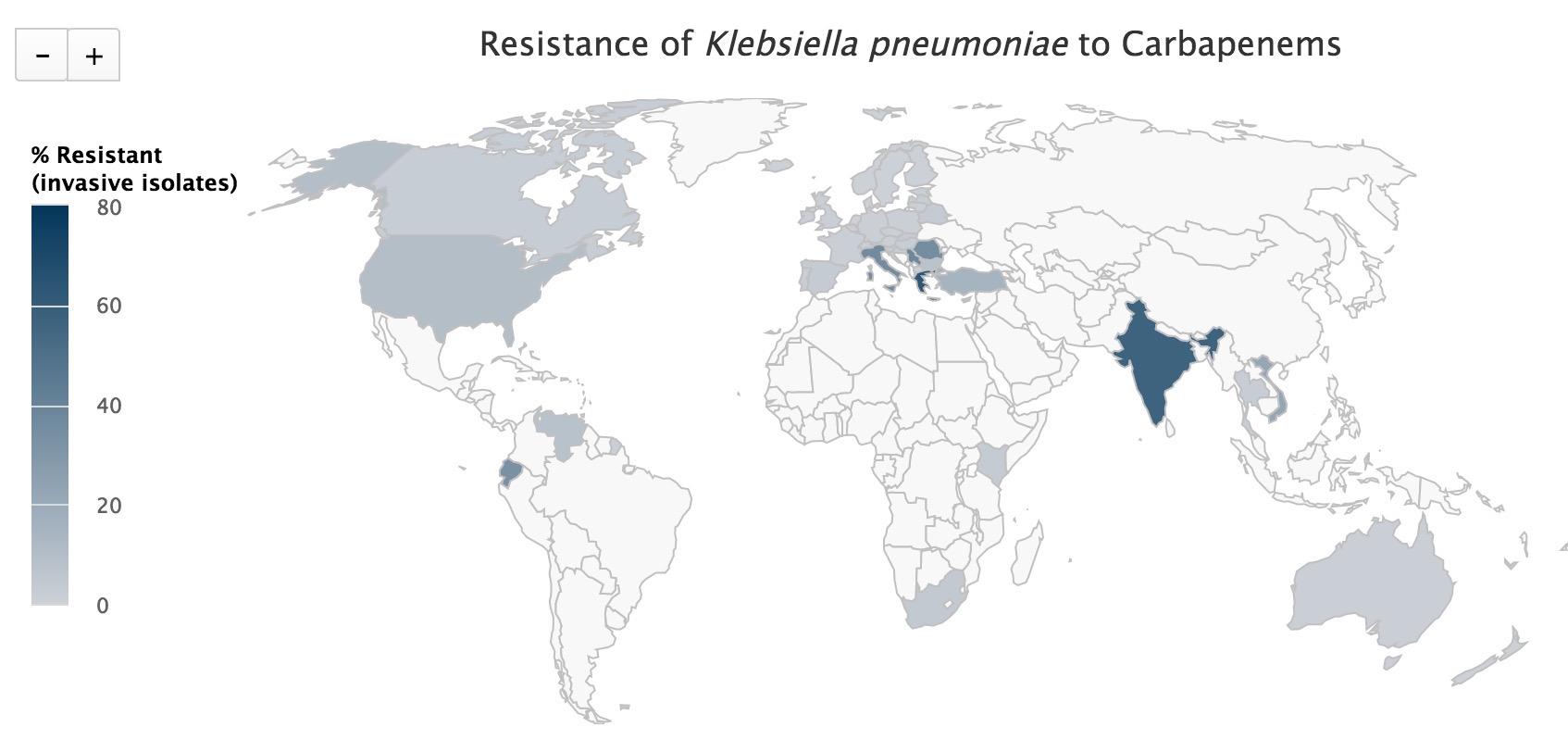 Việt Nam: 22%, 172 trường hợp kháng đã được kiểm nghiệm