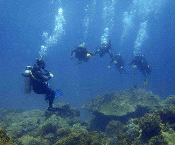 Du lịch lặn biển được coi là hình thức khai thác bền vững đối với khu bảo tồn sinh thái đáng quý này. (Ảnh: furama.com)