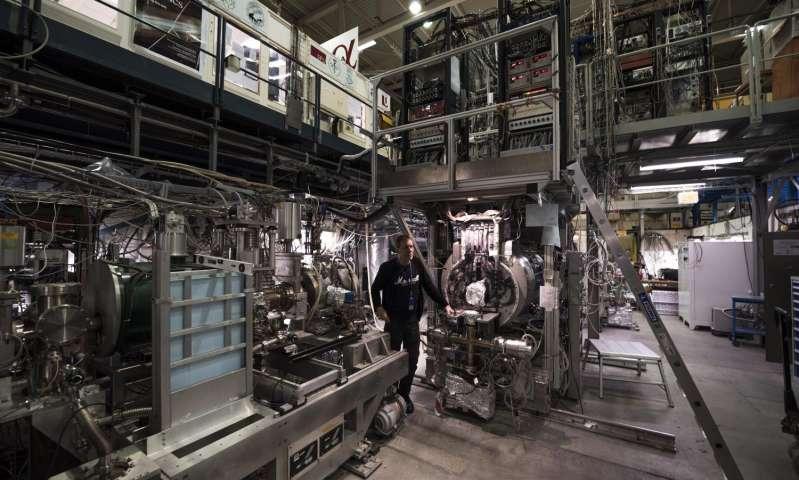 Thí nghiệm ALPHA năm 2016 tại CERN (ảnh: CERN)