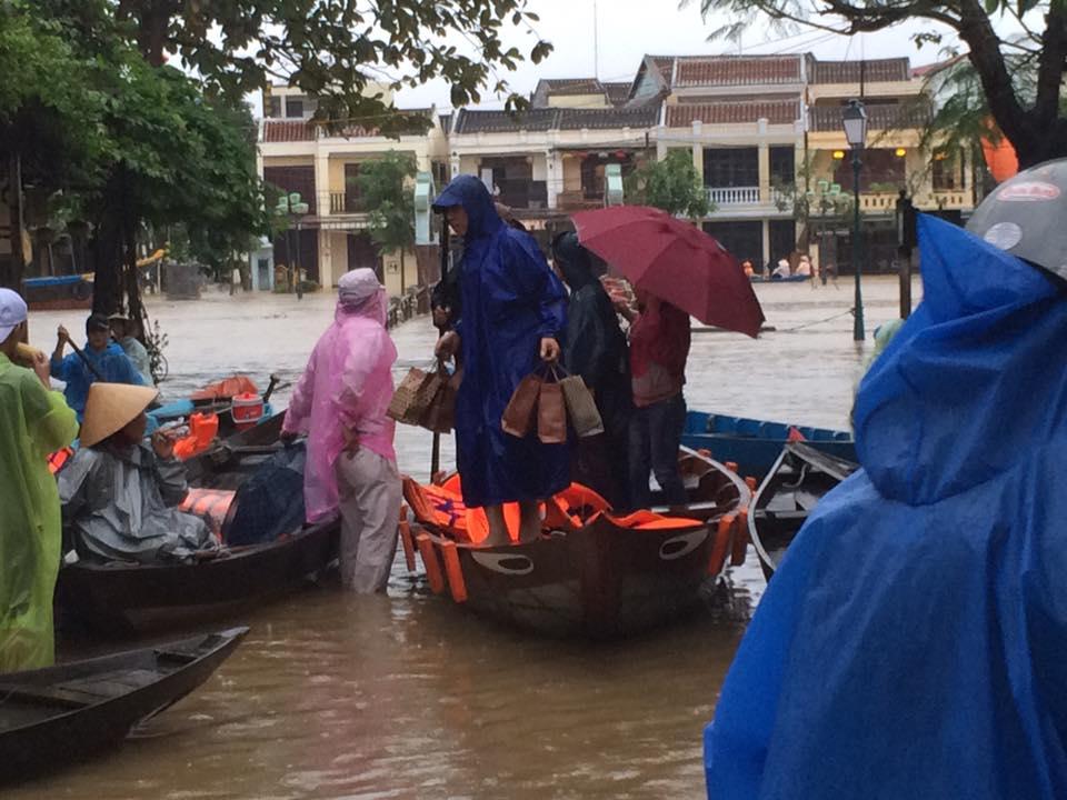 Từ ngày 14-17/12, dự báo từ Quảng Nam đến Phú Yên sẽ có mưa to đến rất to, lưu lượng 300-400mm/đợt. (Ảnh: FB Ly Ly Tran)
