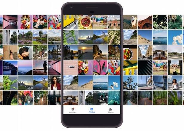 Upload lên Google Photo không giới hạn từ điện thoại Pixel, bao gồm cả video 4K