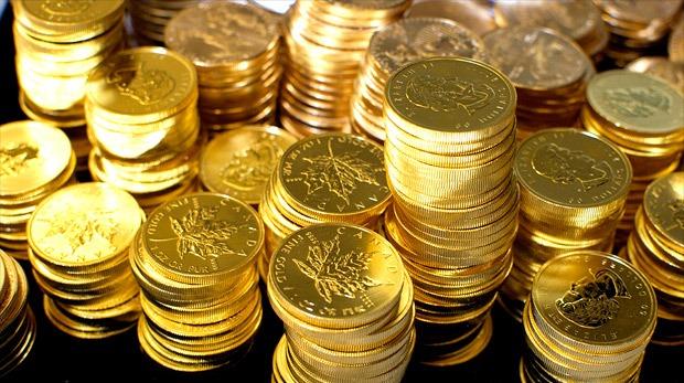 Tiền vàng. Ảnh internet
