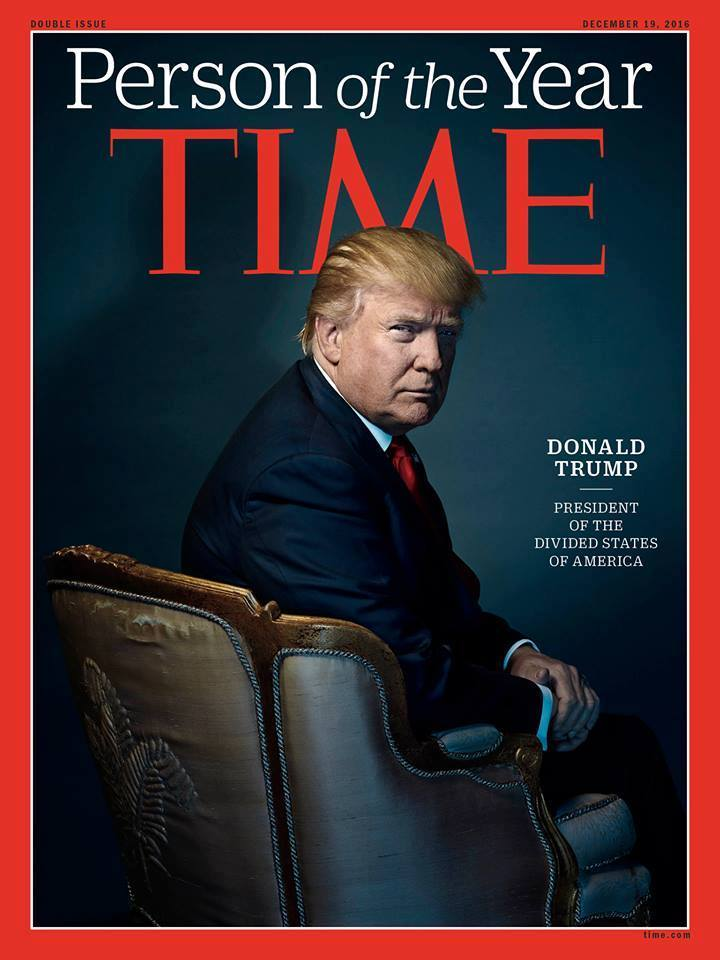 Trang bìa tạp chí TIME