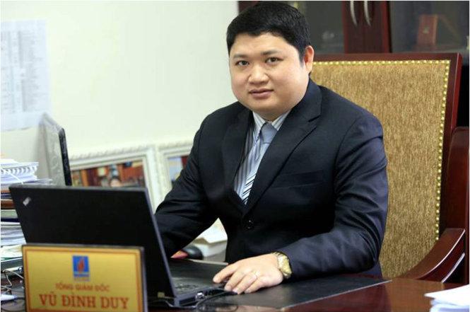 Ông Vũ Đình Duy – cựu thành viên Hội đồng thành viên Tập đoàn Hóa chất (Ảnh: Vinachem)