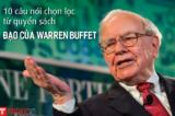 """10 kinh nghiệm đầu tư trích lọc từ quyển sách """"Đạo của Warren Buffet"""""""