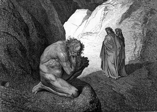 Vũ trụ trong Thần Khúc của Dante - Kỳ V: Hỏa ngục - Tầng địa ngục thứ tư và ý nghĩa sự xuất hiện của Chư Thần