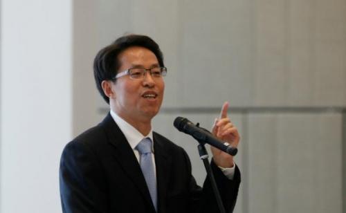 Ông Trương Hiểu Minh, Chủ nhiệm Văn phòng Liên lạc Trung Quốc tại Hồng Kông. (Ảnh: internet)