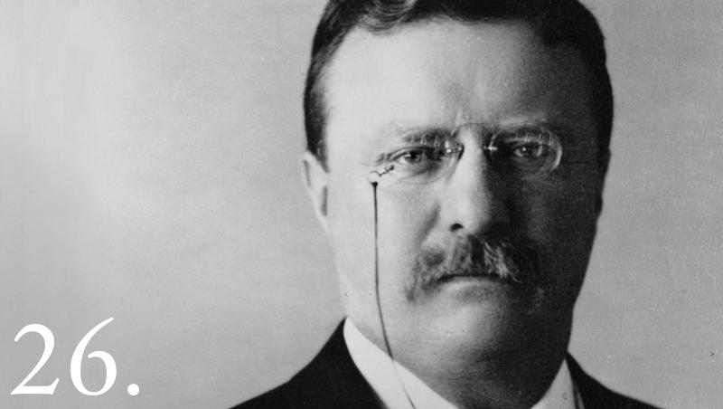 Theodore Roosevelt người thành công