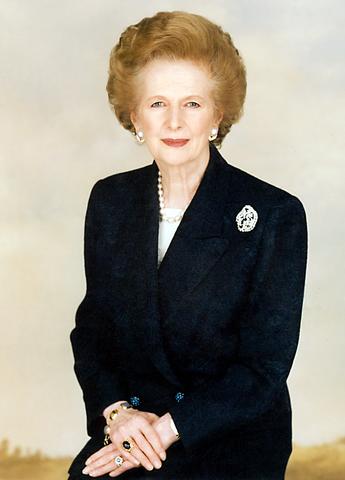 Cựu Thủ tướng Anh quốc Margaret Thatcher (Ảnh: Wiki)