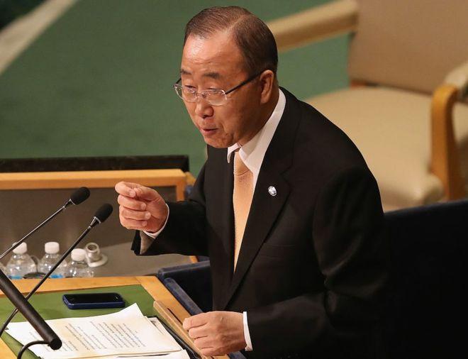 Ông Ban Ki-moon, giữ vai trò Tổng Thư Ký Liên Hiệp Quốc từ năm 2007-2016 (Ảnh: Getty)
