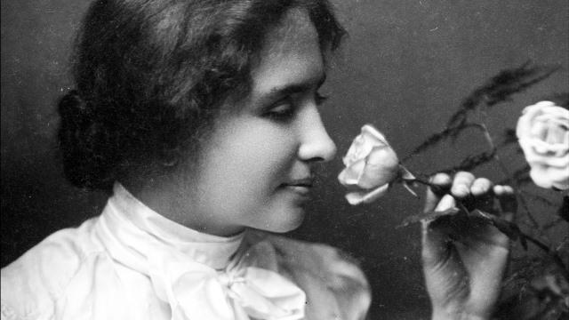 Helen Keller. (Ảnh qua YouTube)