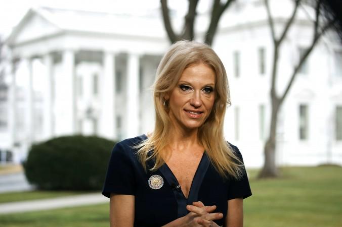 Cố vấn tổng thống - Kellyanne Conway, ảnh chụp ngày 22/1/2017 (ảnh: Mark Wilson/Getty Images)