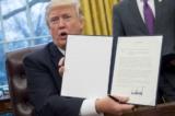 Tổng thống Trump xem xét sắc lệnh mới về thương mại