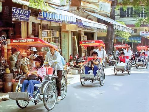 Khách du lịch Trung Quốc tại Việt Nam. (Ảnh: internet)