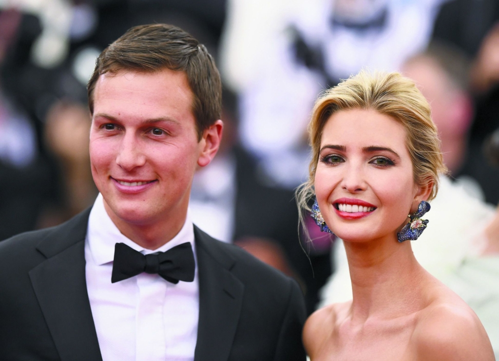 Jared Kushner và vợ Ivanka Trump