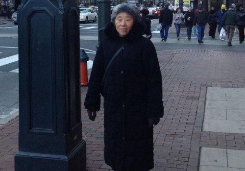 Bà Điền, 71 tuổi (Ảnh: Epochtimes)