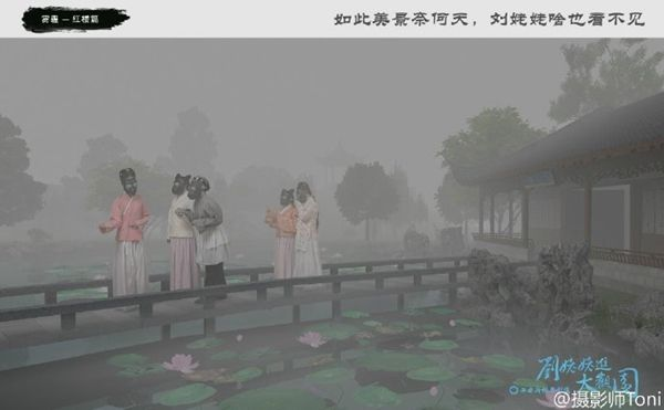 Già Lưu vào Đại Quan Viên (Ảnh: Weibo Toni)