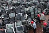 Châu Á đang tích trữ một lượng rác thải điện tử khổng lồ