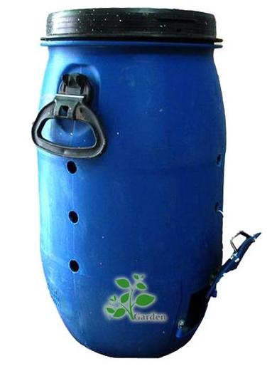 Thùng ủ phân hữu cơ 220 lít được bán với giá 880.000đ (ảnh: vuondothi.vn)