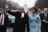Loạt ảnh lễ tuyên thệ nhậm chức tổng thống của ông Donald Trump