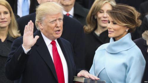 trump sworn wife