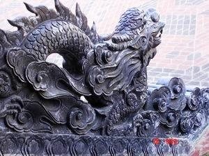 Rồng trong cung đình nhà Nguyễn (Ảnh: Tạp chí Sông Hương)