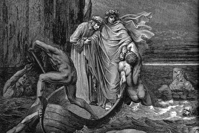 Vũ trụ trong Thần Khúc của Dante - Kỳ VI: Hỏa ngục - Tầng địa ngục thứ năm và những kẻ giận dữ
