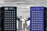 Chứng khoán châu Âu trầm lắng khi vụ sáp nhập LSE-Deutsche Boerse khó thành
