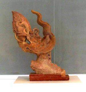 Đầu rồng thời Lý (Ảnh: Wikipedia)