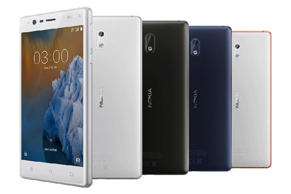 Nokia 3 (Ảnh: Nokia)