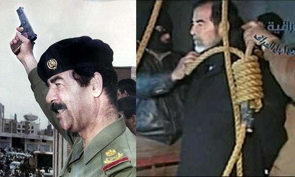 Cựu Tổng thống Iraq Saddam Hussein đã bị kết án tử hình vào năm 2006.