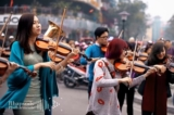 Không chỉ London Orchestra, phố đi bộ Hà Nội từng đón một dàn giao hưởng Việt