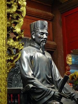 Thầy Chu Văn An, một trong những người thầy nổi tiếng nhất trong lịch sử Việt Nam (Ảnh:wikipedia)