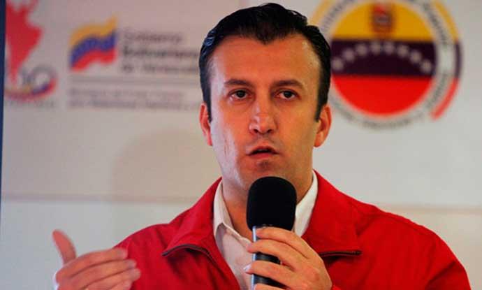 Ông Tareck el-Aissami, phó Tổng thống Venezuela (Ảnh: wiki)